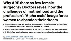 Mayoni in the Daily Mail
