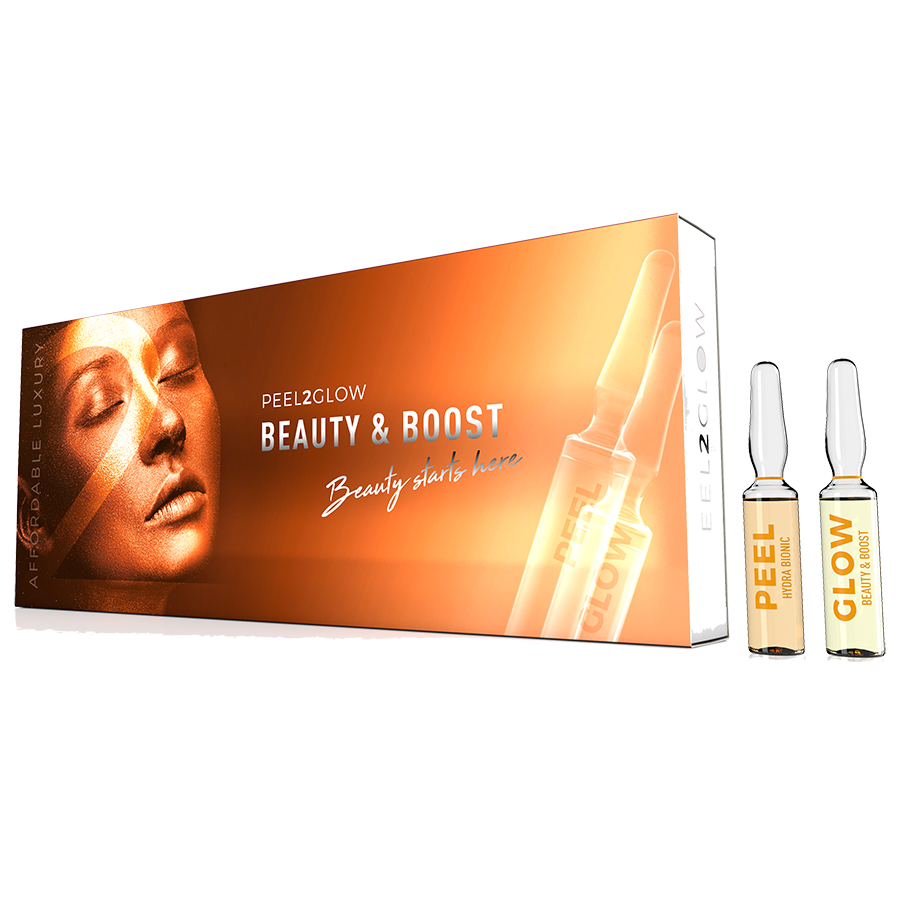 Peel2Glow: Beauty & Boost GLOW 5-pack The Clinic by Dr Mayoni