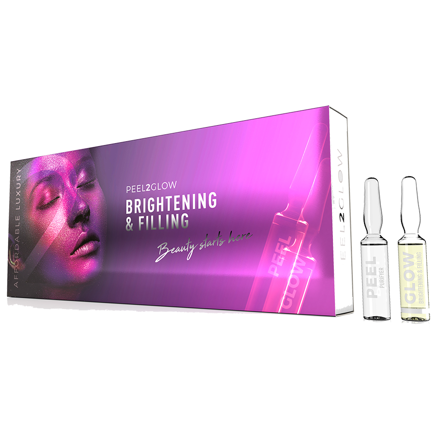 Peel2Glow: Brightening & Filling GLOW 10-pack The Clinic by Dr Mayoni